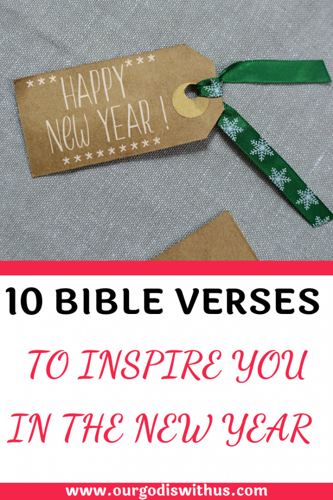 10 Bible verses to inspire you in the New Year