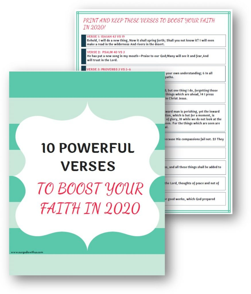 10 Powerful Verses to Boost your faith in 2020 J-PEG FINAL