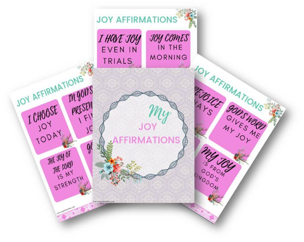 Joy affirmations