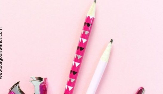 Back to school pencils and stationery