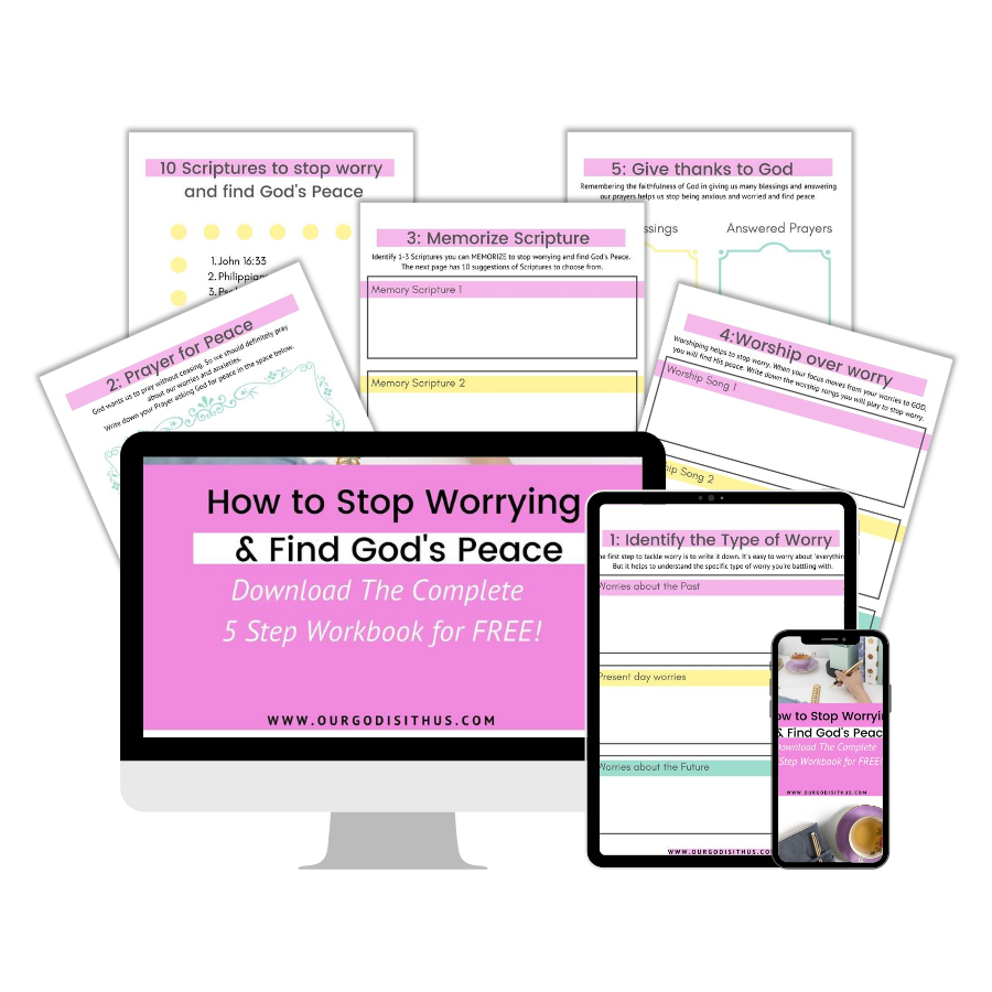 How to stop worrying and find peace