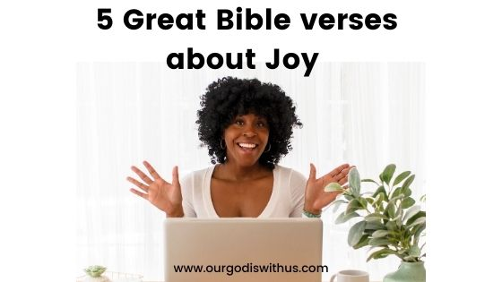 5 Great Bible Verses about Joy