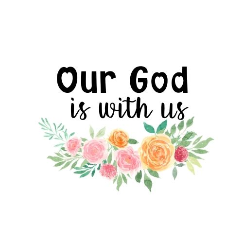 Our God is With Us logo